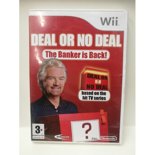 Deal or no deal Nintendo Wii