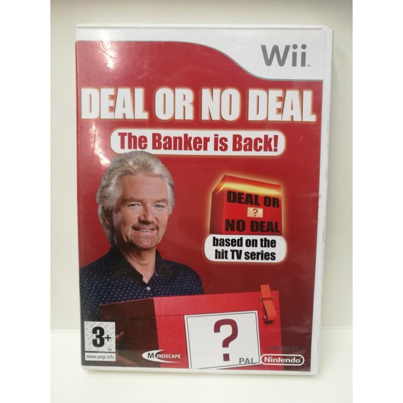Deal or no deal Nintendo Wii