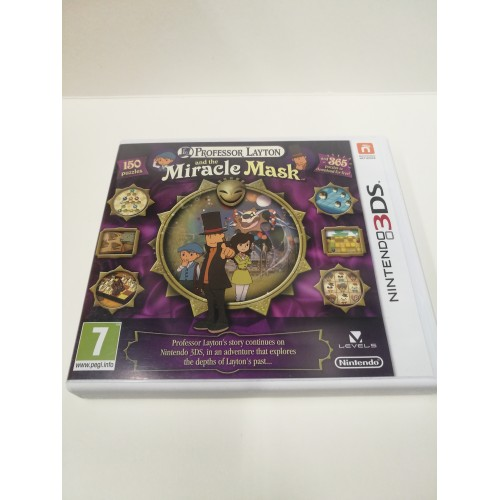 PROFESSOR LAYTON AND MIRACLE MASK (NINTENDO 3DS)