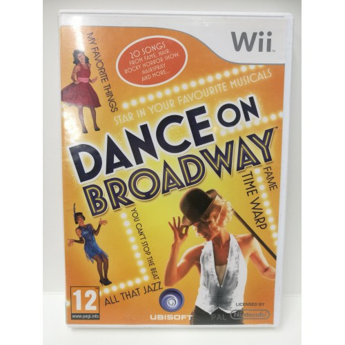 DANCE ON BROADWAY NINTENDO Wii