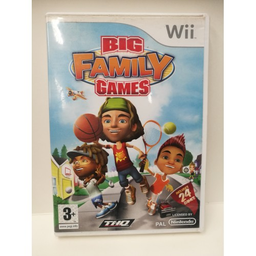 BIG FAMILY GAMES NINTENDO Wii