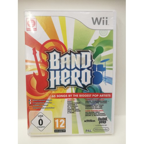 BAND HERO NINTENDO Wii