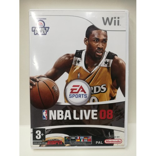 NBA LIVE 08 NINTENDO Wii