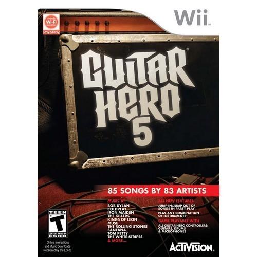 Guitar Hero 5 Nintendo Wii