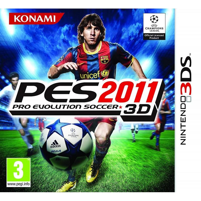 PES 2011 Nintendo 3DS
