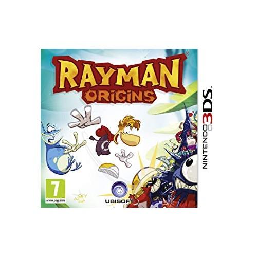 Rayman Origins - Nintendo 3DS (Be dėžutės)