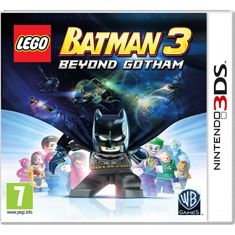 Lego: Batman 3 - Beyond Gotham - Nintendo 3DS (Be dėžutės)