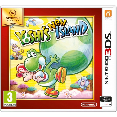 Yoshi's New Island - Nintendo 3DS (Be dėžutės)