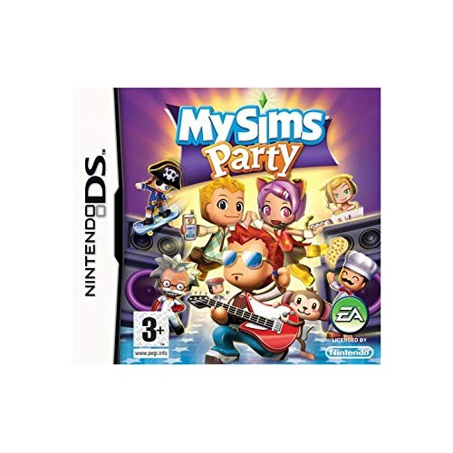 My Sims Party - Nintendo DS (Be dėžutės)