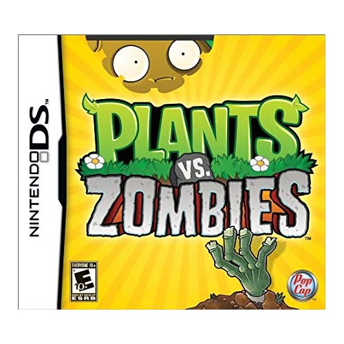 Plants vs zombies Nintendo DS (Be dėžutės)