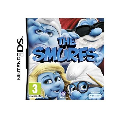 The Smurfs Nintendo DS (Be dėžutės)