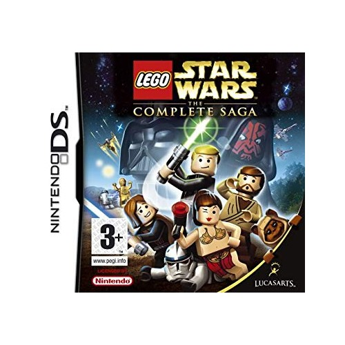 Lego Star Wars the complete saga game Nintendo DS (Be dėžutės)