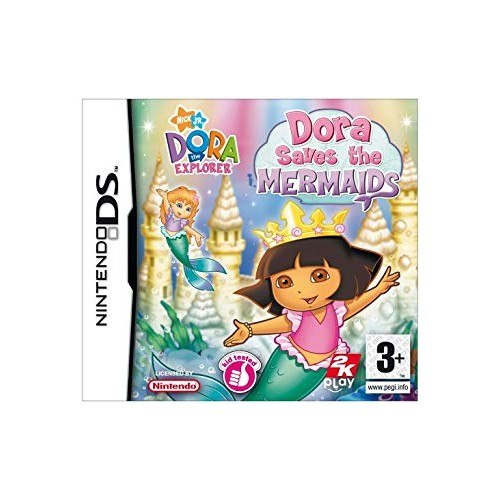 Dora the Explorer: Dora Saves the Mermaids Nintendo DS (Be dėžutės)