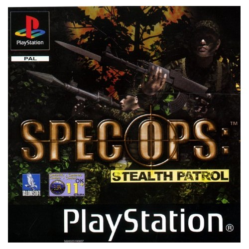 Spec Ops: Stealth Patrol PS1