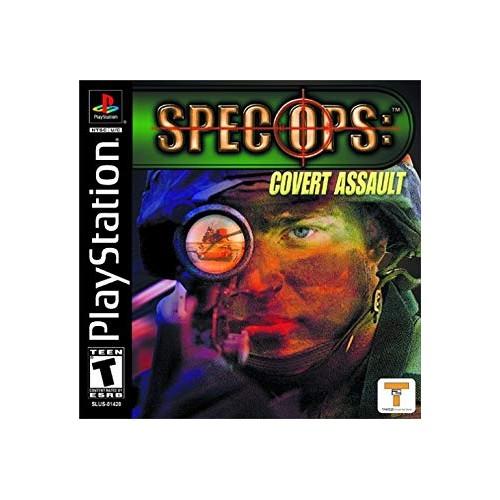 Spec Ops Covert Assault PS1