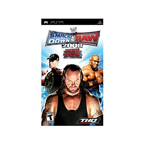 WWE Smackdown vs Raw 2008 (PSP)