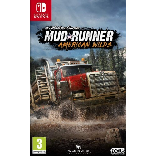 Spintires: MudRunner - American Wilds (Nintendo Switch)