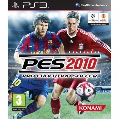 PRO EVOLUTION SOCCER 2010 PES PS3