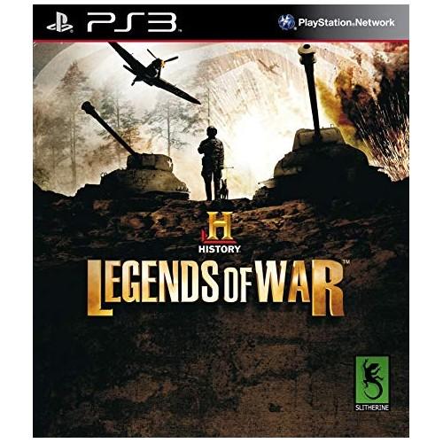 History Legends of War PS3