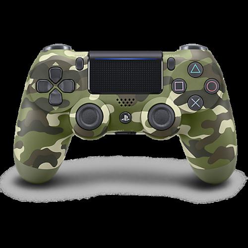 PS4 bevielis žaidimų valdymo pultelis V2 Green Camouflage