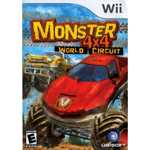 MONSTER 4x4 WORLD CIRCUIT NINTENDO Wii