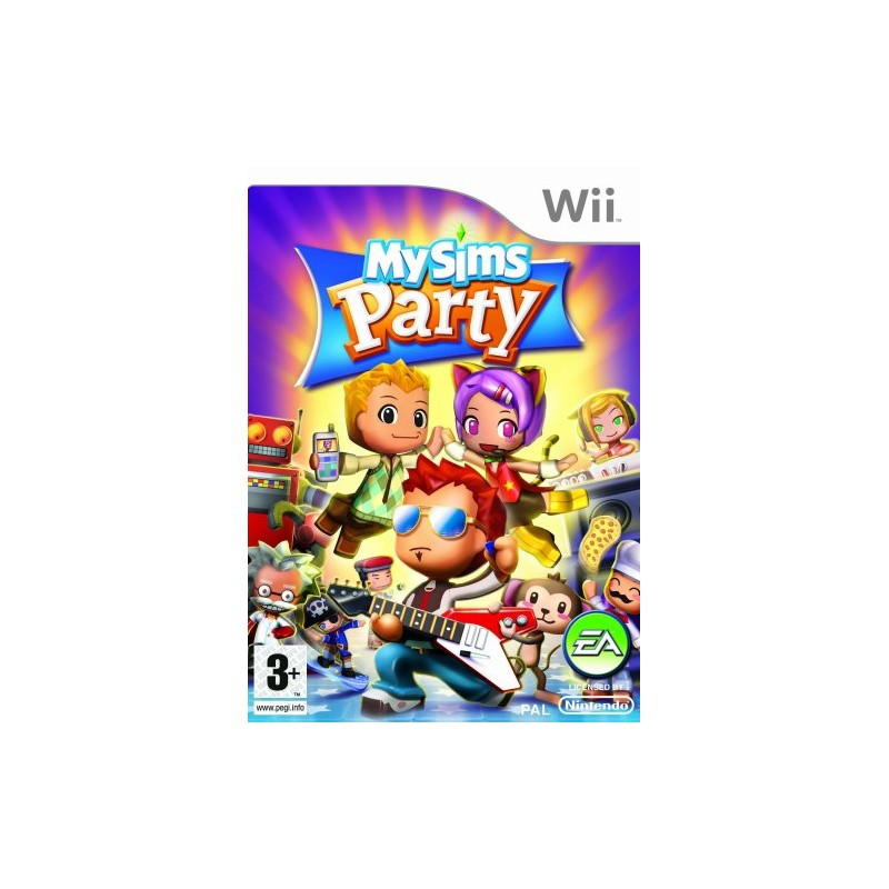 My Sims Party - Nintendo Wii