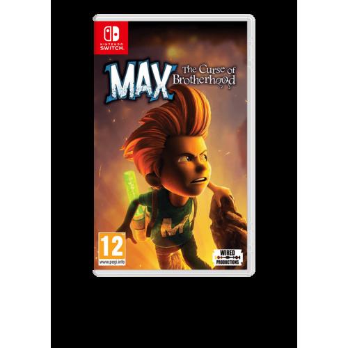 MAX The Curse of Brotherhood  (vokiškas viršelis)