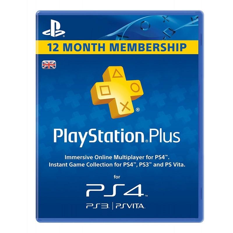 12 mėnesių PSN PLUS kodas